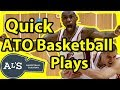 Quick After Timeout Basketball Plays vs Man to Man Defense