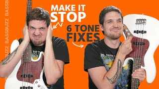 6 Bass Tone Fixes (Beginners, Stop Sounding Like a Newb)