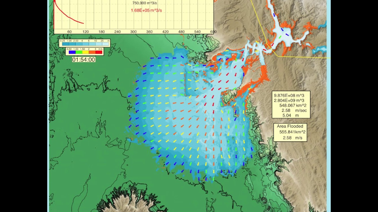 Map Of California Oroville Dam.Simulation Shows Oroville Dam Spillway Failure Capradio Org