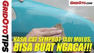Cara Bikin Hasil Cat Semprot Kayak Hasil Cat Pabrikan   How To   GridOto Tips