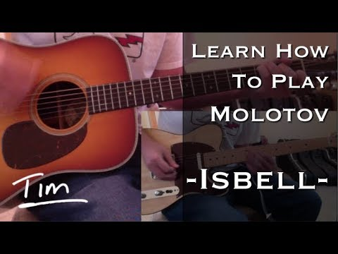 Jason Isbell Molotov Chords and Tutorial