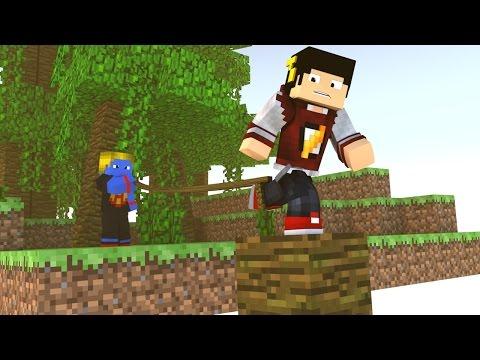 Minecraft: Dando Jeitinho BR nas Coisas - Parkour Hacker ‹ AM3NIC ›
