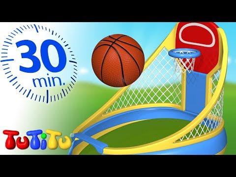 Toys For Toddlers | Basketball | TuTiTu Specials | 30 Minutes Special