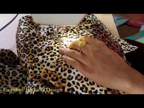 How to sew brass zipper