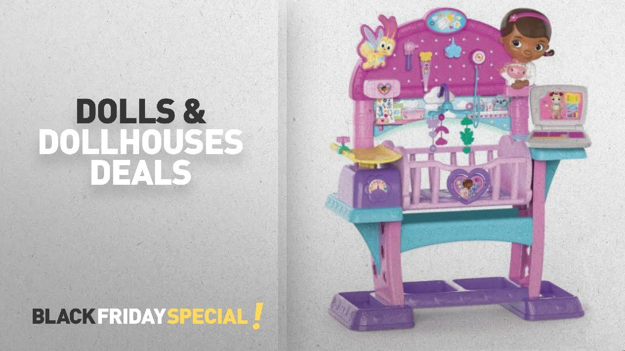 Walmart Dolls U0026 Dollhouses Deals: Disney Junior Doc McStuffins Baby All In  One Nursery