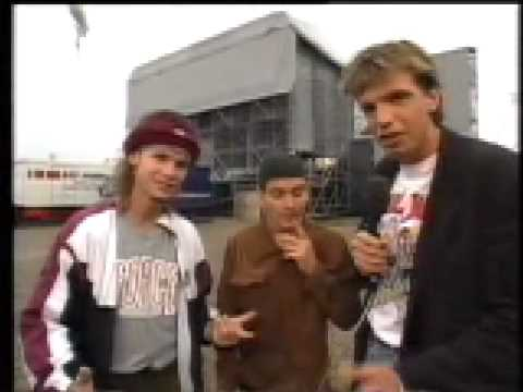 Pearl Jam - Pinkpop Interview 1992