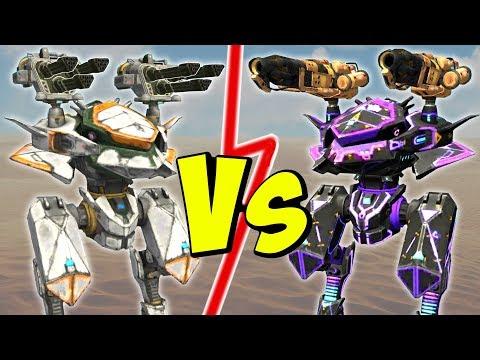 AVENGER Vs EMBER AO JUN - War Robots Mk2 Comparison Gameplay WR