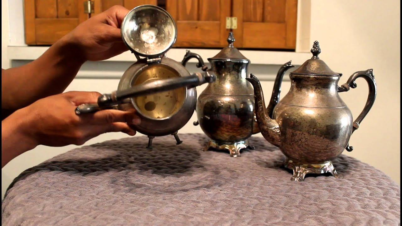 Vintage Fb Rogers Silver Tea Pot Review - YouTube