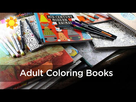 Artist and Adult Coloring Books