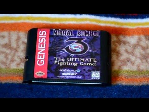 Современная копия Ultimate Mortal Kombat 3 на Sega Mega Drive (Genesis)