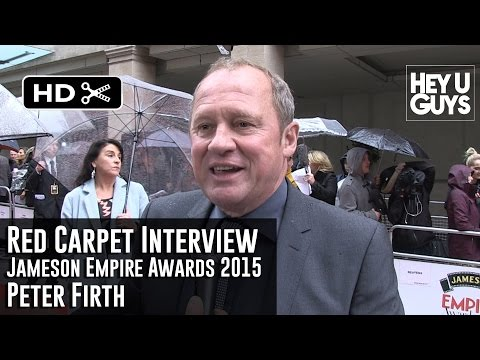 Peter Firth Interview - Empire Jameson Film Awards 2015 (Spooks the Movie)