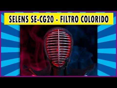 Selens SE-CG20   Filtro colorido para flash dedicado