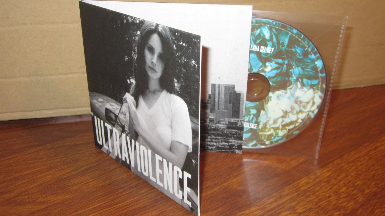 Lana Del Rey Ultraviolence Unboxing Cd Deluxe Edition Youtube