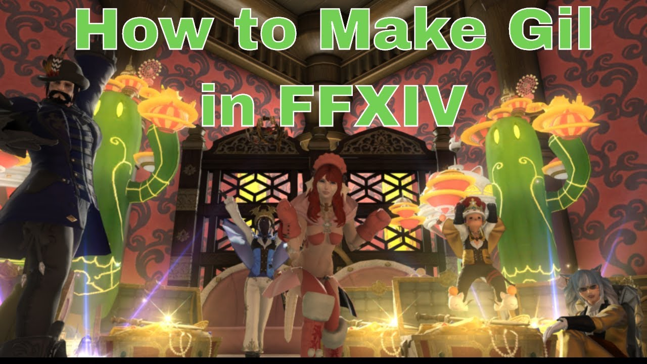 How to Make Gil in FFXIV: Ep 14 [Poetics and Creation ]