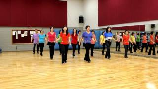 Caught In The Moonlight - Line Dance (Dance & Teach in English & 中文)