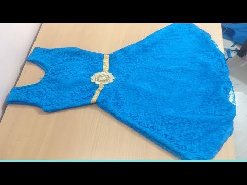 Beautiful Net Umbrella Frock Cutting And Stitching