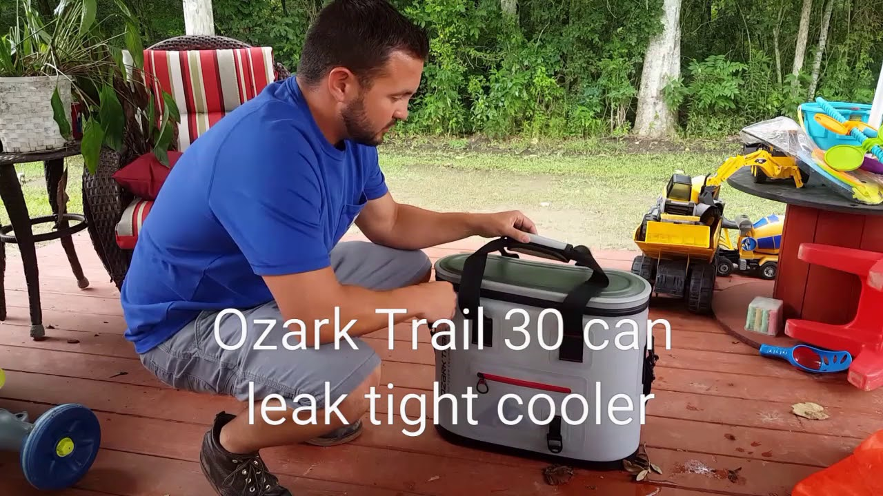 Soft Cooler Review Ozark Trail 30 Can Soft Cooler Great