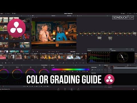 DaVinci Resolve 12: Color Grading Guide for Pro Correction Tutorial