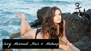 Sexy Mermaid Hair & Makeup| #13DaysofHalloween