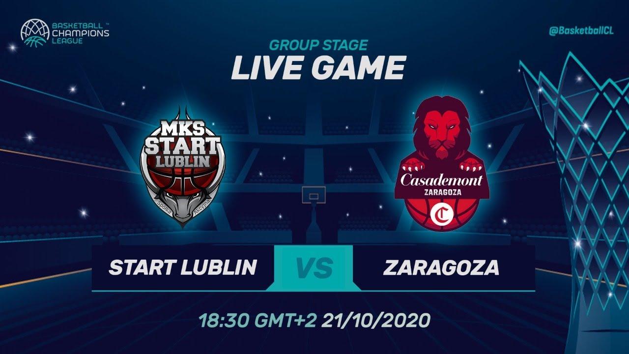 LIVE 🔴 Pszczólka Start Lublin v Casademont Zaragoza