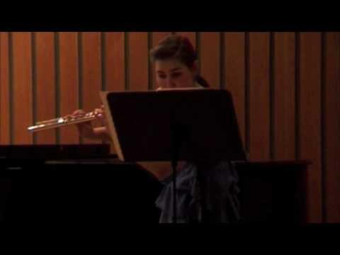 Nína Hjördís: Franck sonata 4. mov