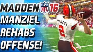 JOHNNY MANZIEL REHABS OFFENSE! - Madden 16 Ultimate Team