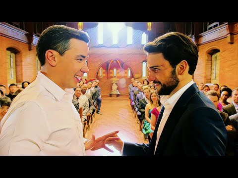Connor and Oliver Relationship Part 28 (Gay Kisses at the Wedding + Oliver's Love Song for Connor)