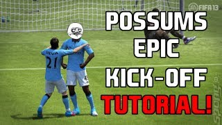 FIFA 13 Kick-Off Tutorial - 5 Steps to an Easy Goal *USEFUL TUTORIAL!*