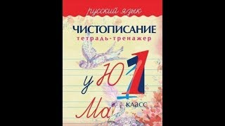 Обзор  Тетради-тренажера Чистописание  1 класс,  автор Латынина А.А.  Детский педагог-психолог