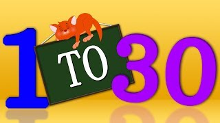 1-30 Numbers Song | Preschool Learning Videos For Children