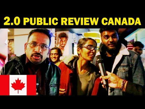 2.0 Audience Reaction From Canada |  2.0 புலம்பெயர் தமிழர்களின் கருத்து | #2Point0Review
