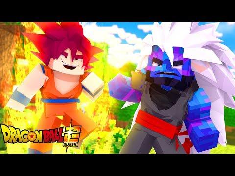 Minecraft: DIÁRIO DE UM SAIYAJIN #23 - VENCERAM O SSJ GOD !! (Dragon Ball Super)