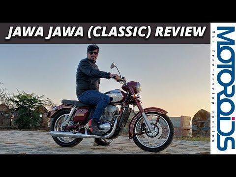 Jawa Jawa (Classic) Detailed Review | 0-100, Top Speed, Exhaust Sound | Motoroids