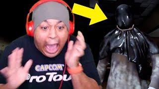 DUDE GOT A 50 GALLON SIZED GARBAGE BAG OVER HIS HEAD!! RUN!!...