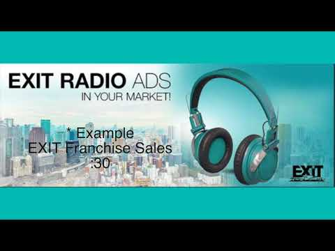 EXIT RADIO FRANCHISE SALES :30