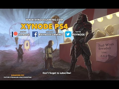 Xynode Live Streaming - Elder Scrolls Online - PVE Chill out! - (10 Dec 2017)