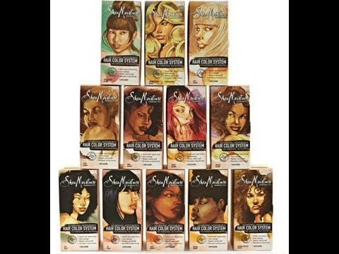 45 Shea Moisture Hair Color System YouTube