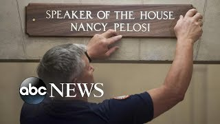Rep. Nancy Pelosi makes triumphant return to power