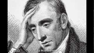 """To Wordsworth,"" by Percy Bysshe Shelley"