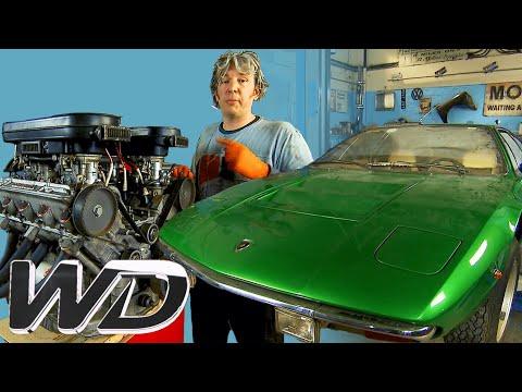 Lamborghini Urraco: How To Completely Refurbish The Engine | Wheeler Dealers