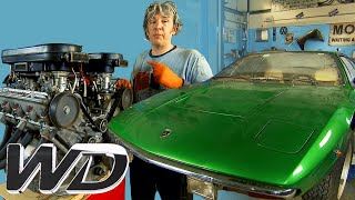 Lamborghini Urraco: How To Completely Refurbish The Engine | Wheeler Dealers