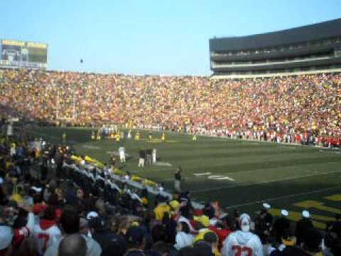 O-H-I-O at Michigan Stadium