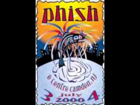 PHISH SLAVE TO THE TRAFFIC LIGHT CAMDEN 7/4/2000