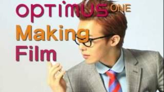BIGBANG「LG Optimus ONE」Online CM Making Film!!