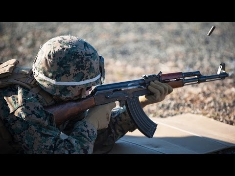 US Marines Heavy Combat Assault Range Live Fire Action - Drills in Bulgaria