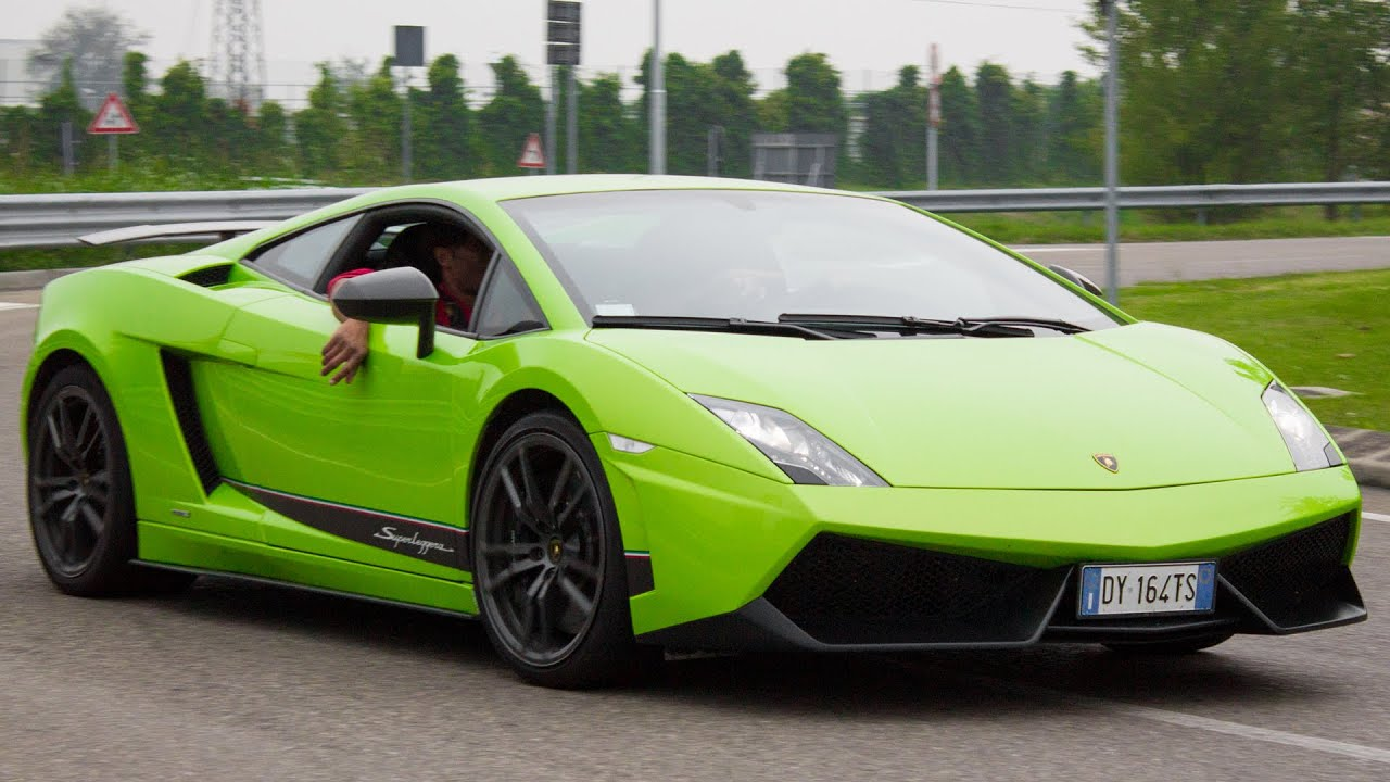 Superb LAMBORGHINI GALLARDO LP570 4 SUPERLEGGERA   Walkaround And Sound 2014 HQ    YouTube