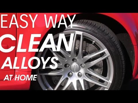 How to  Clean Your Alloy Rims At Home - AlloyrimRestoration