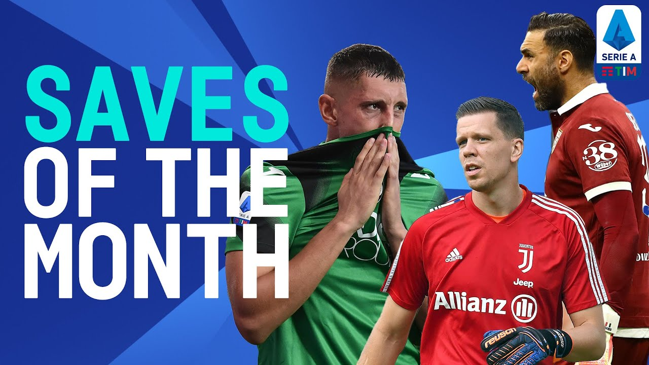 Szczęsny, Gollini, Sirigu! | Saves Of The Month | July/August 2020 | Serie A TIM
