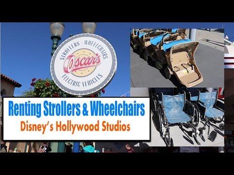 Rent Strollers & Wheelchairs At Walt Disney World Oscar's Hollywood Studios