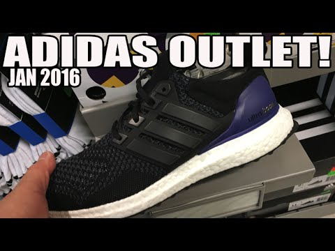 ADIDAS ULTRABOOST OG V1 AT ADIDAS OUTLET??!!
